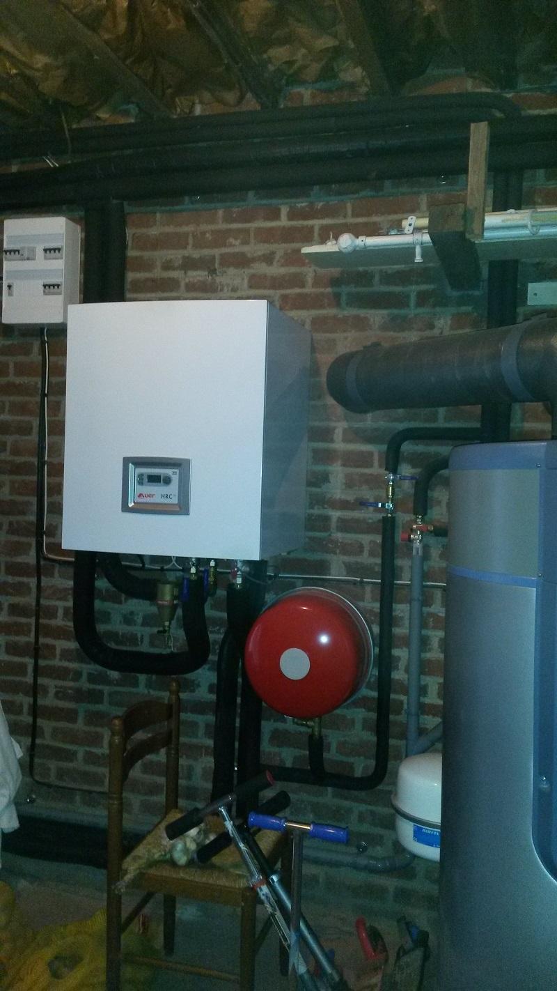 Installation d'une pompe à chaleur à Lambersart
